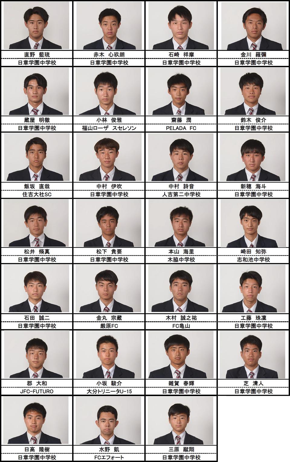 メンバー紹介(2021年度高校2年生)