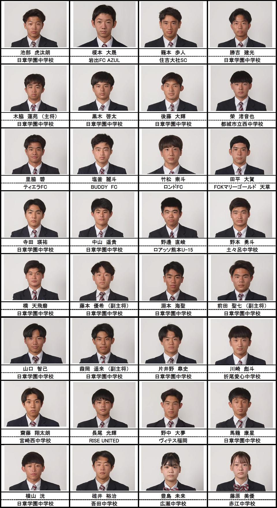 メンバー紹介(2021年度高校3年生)