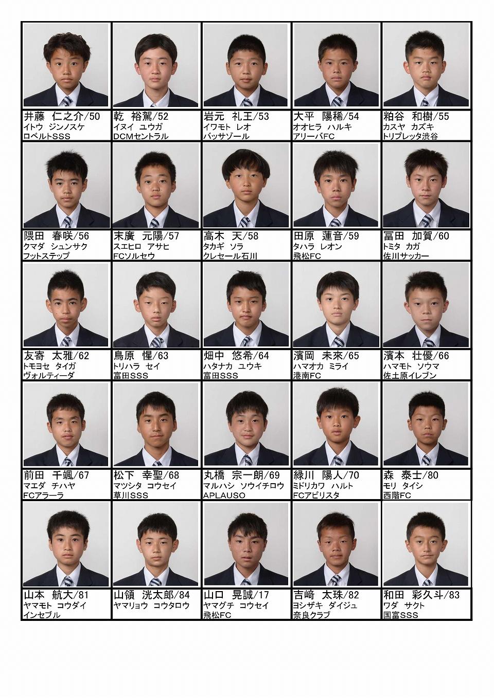 メンバー紹介(2021年度中学1年生)